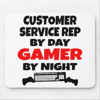 Gamer Customer Service Representative Mouse Pad