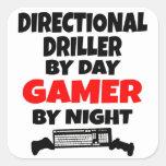 Gamer Directional Driller Stickers