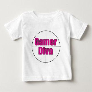 Gamer Diva Baby T-Shirt