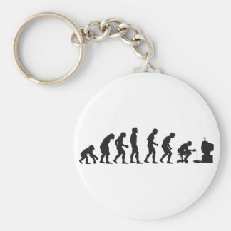 Gamer Evolution Keychain