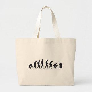 Gamer Evolution Large Tote Bag
