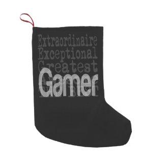 Gamer Extraordinaire Small Christmas Stocking