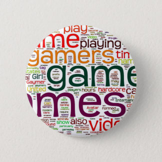 Gamer for all pinback button