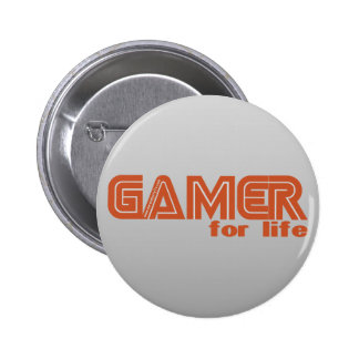 Gamer for Life 2 Inch Round Button