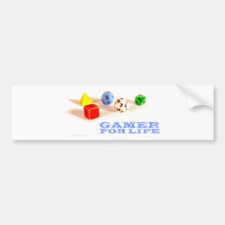 Gamer for Life • Bumper Sticker