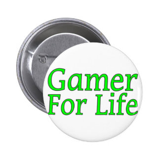 Gamer For Life Button