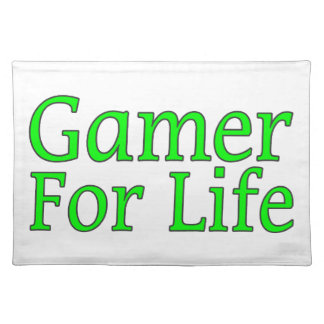 Gamer For Life Cloth Placemat