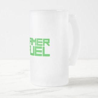 GAMER FUEL FROSTED GLASS BEER MUG