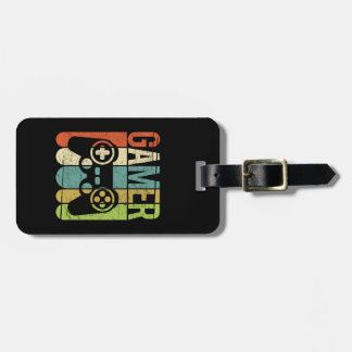 Gamer Game Controller Bag Tag