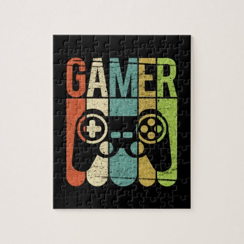 Gamer Game Controller Jigsaw Puzzle