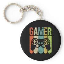 Gamer Game Controller Keychain