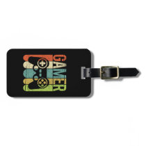 Gamer Game Controller Luggage Tag