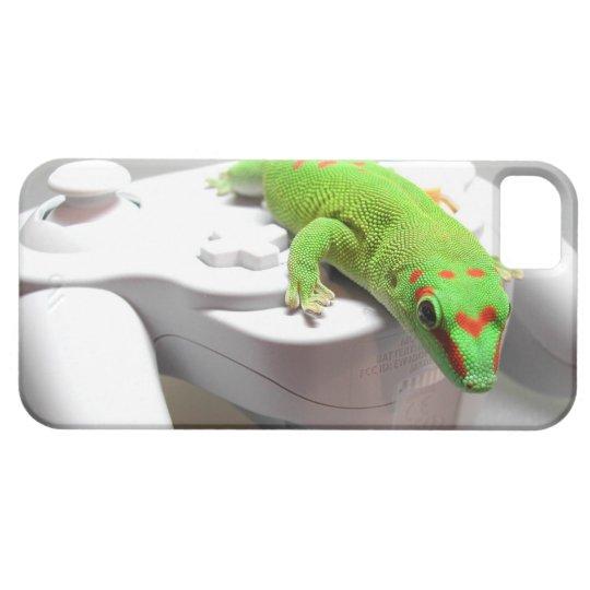 Gamer Gecko iPhone 5 Case