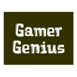 Gamer Genius Postcard