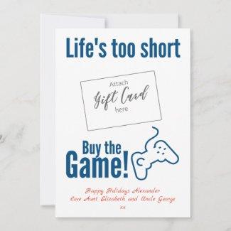 Gamer Gift Card Holder