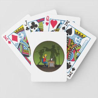 gamer girl cartas de juego
