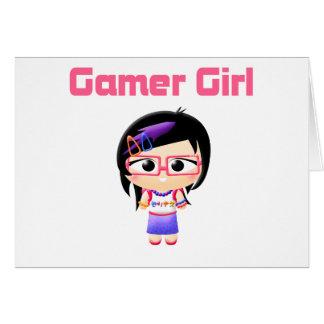Gamer Girl Cutie Patootie Card