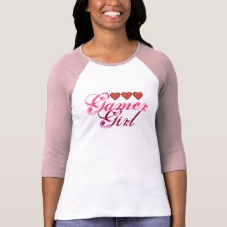 Gamer Girl Hearts Shirt