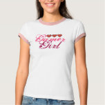 Gamer Girl Hearts T-Shirt