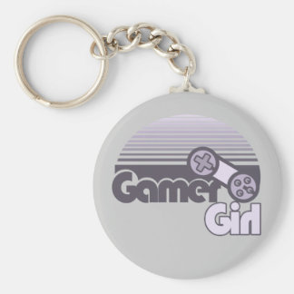Gamer Girl Keychain