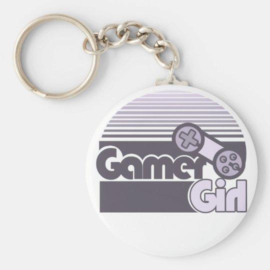 Gamer Girl Keychain