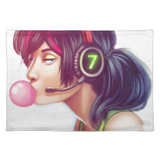 Gamer Girl Placemat