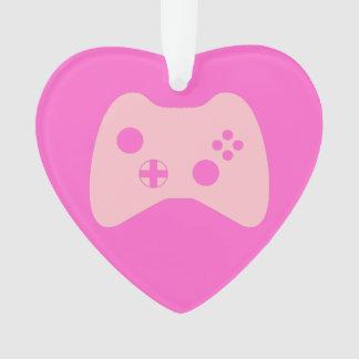 """""""Gamer Girl's Heart"""" Ornament"""