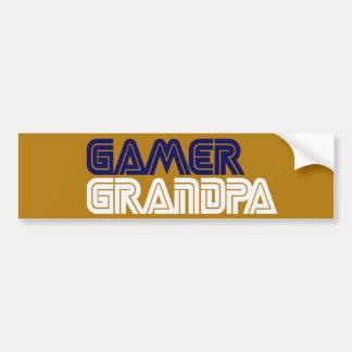 Gamer Grandpa Bumper Stickers