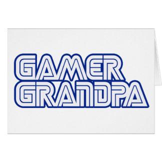 Gamer Grandpa Greeting Card