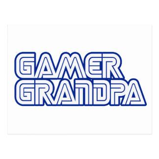 Gamer Grandpa Postcard