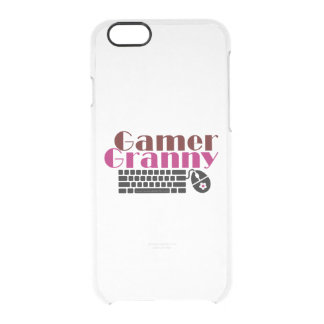 Gamer Granny Clear iPhone 6/6S Case