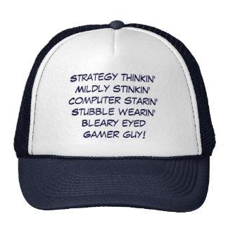 gamer guy! trucker hat