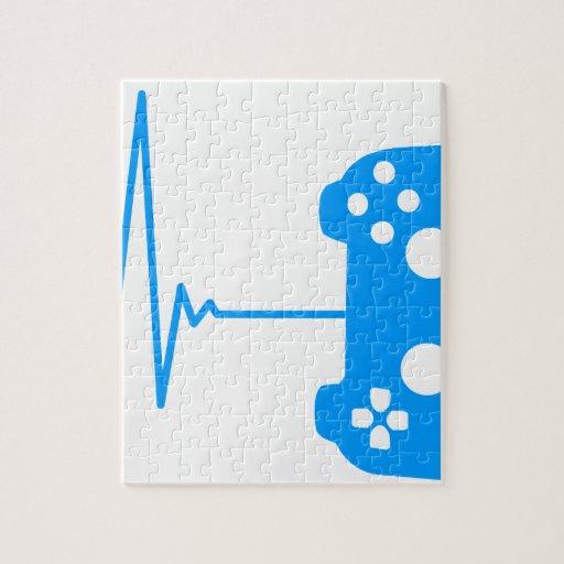 Gamer Heart Beat Jigsaw Puzzle