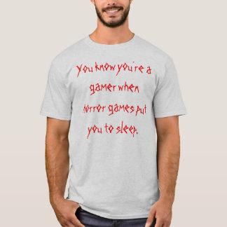 Gamer Horror Shirt