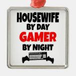 Gamer Housewife Ornaments