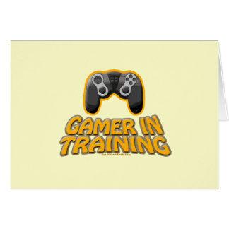 Gamer In Trainiing - Controller Greeting Card