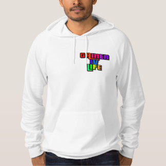 Gamer IV Life Jogger With Hood Hoodie