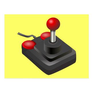 Gamer - Joystick Postcard