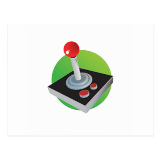 Gamer Joystick Postcard