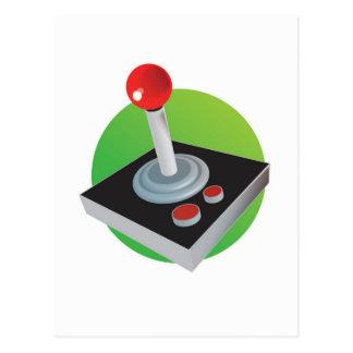 Gamer Joystick Postcard