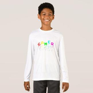 GAMER Kids' Sport-Tek Long Sleeve T-Shirt