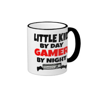 Gamer Little Kid Coffee Mugs