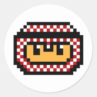 Gamer LOGO Classic Round Sticker