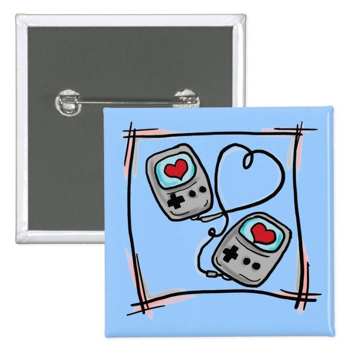Gamer Love button