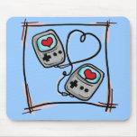 Gamer Love mousepad