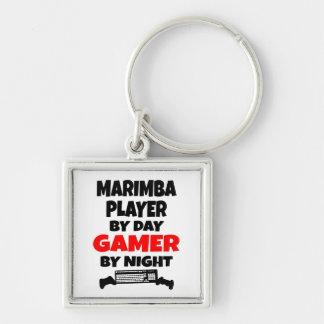 Gamer Marimba Player Keychain