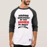 Gamer Marine Biologist T Shirts