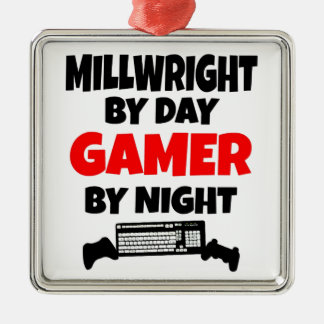 Gamer Millwright Metal Ornament