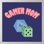 Gamer Mom - Dice Posters