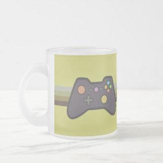 Gamer 10 Oz Frosted Glass Coffee Mug